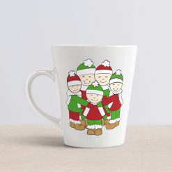 Christmas Cartoon Family mug Mockup